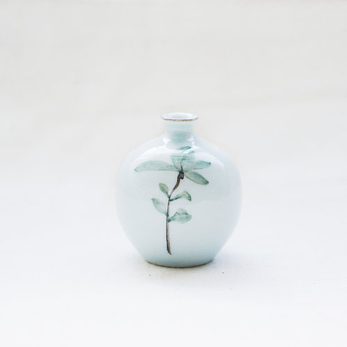 Botanical Mini Vase- Leaves(d)