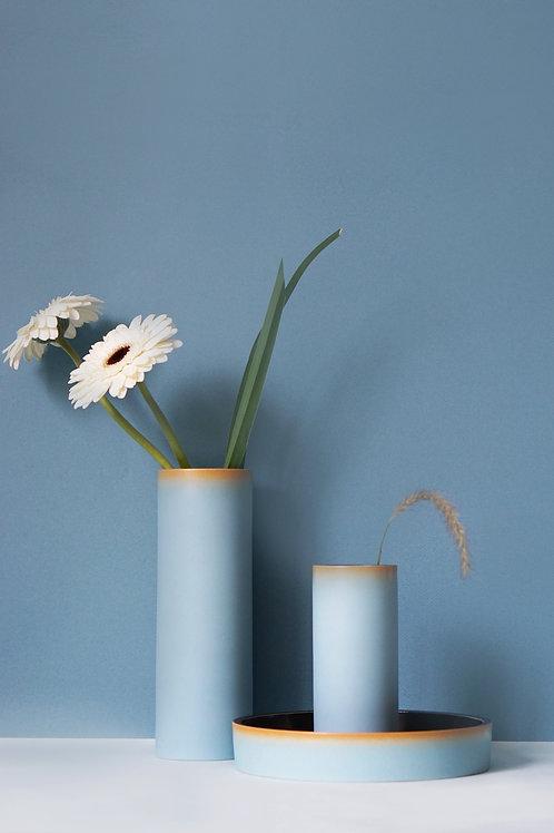 The Tubular Vase Set (Sky Blue)