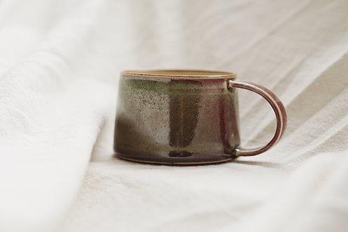 Vintage Speckled Mug - Copper Red(M)
