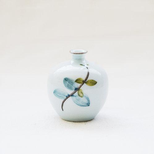 Botanical Mini Vase- Leaves(c)