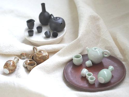 Miniature Display Tea Sets
