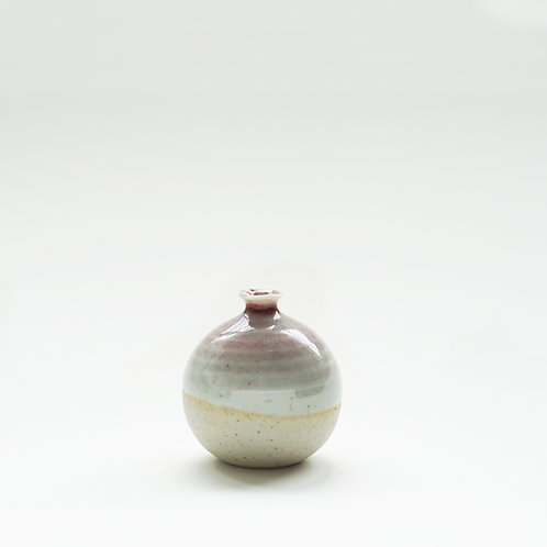 Mini Vase-Light Spiral Cherry Red