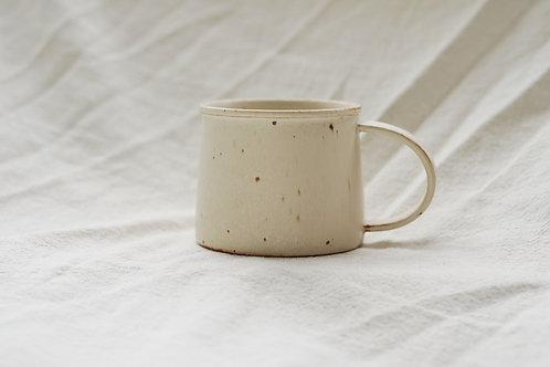 Vintage Speckled Mug - Cream White(M)
