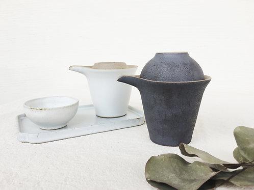 Travel Tea Set-Metallic Black