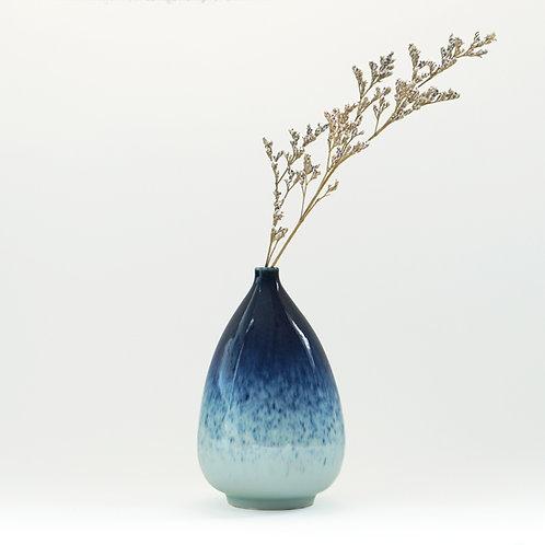 Galaxy Glaze Vase -Oval