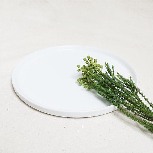 Ceramic Display Tray -White