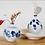 Thumbnail: Brushstroke Mini Vase - Ink Wash Series