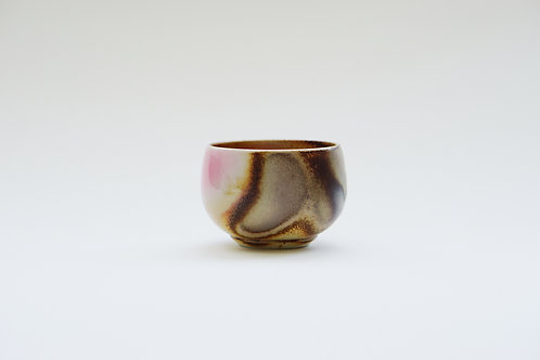Wood-Fired  Ceramic Round Tea Cup