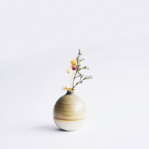 Mini Vase-Seaweed Green