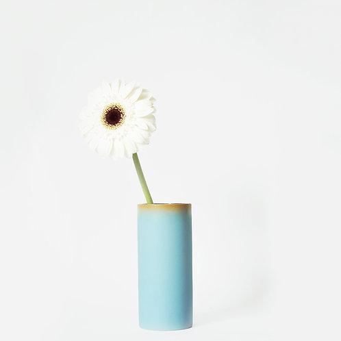 The Tubular - Short Vase (Sky Blue)