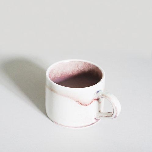 Flambe Glaze Mug-Cameo Brown