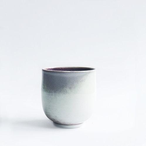 Flambe Glaze Cup-Lavender Fog