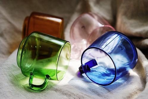 Coloured Glass Mug