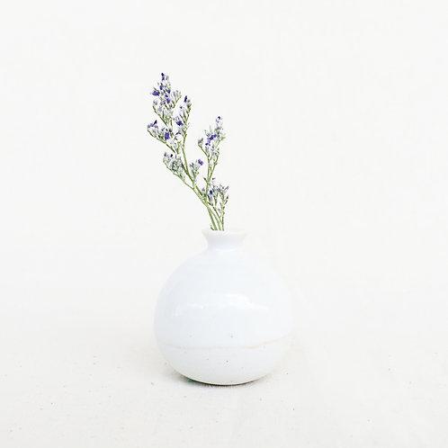 Mini Vase-High White