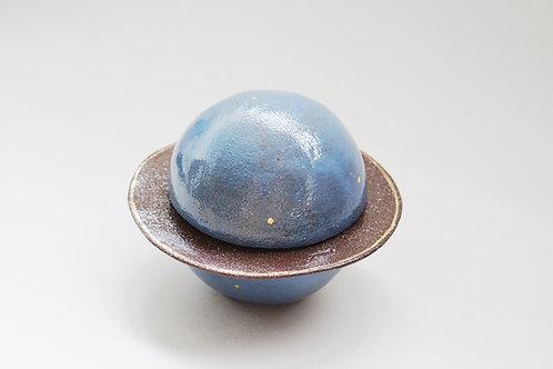 Planet Ceramic Container - Dark Blue (L)