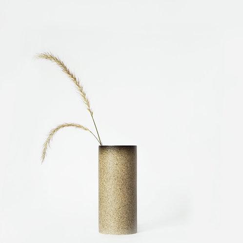 The Tubular - Short Vase (Cove Grey)
