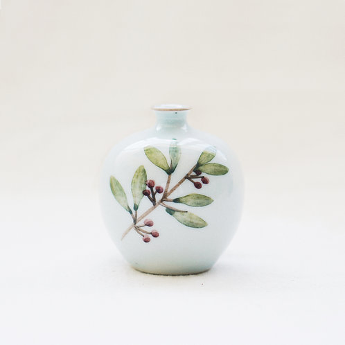 Botanical Mini Vase- Leaves(a)