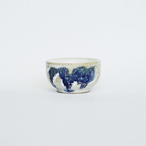 Flambe Glaze Tea Cup- Purple Splash