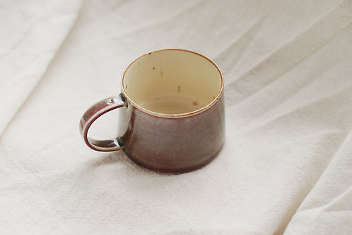 Vintage Speckled Mug - Copper Red  (L)