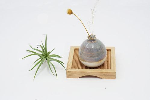 Mini Vase + Mini Bamboo Tray