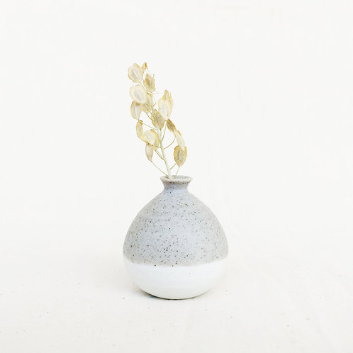 Mini Vase-Pastel Grey