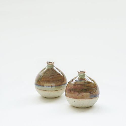 Mini Vase-Seashore Brown