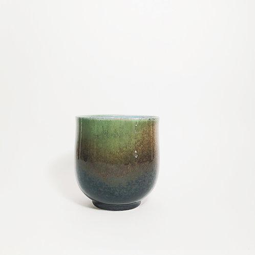 Flambe Glaze Cup-ShanShui Green