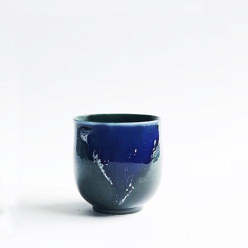 Flambe Glaze Cup-Shiny Violet
