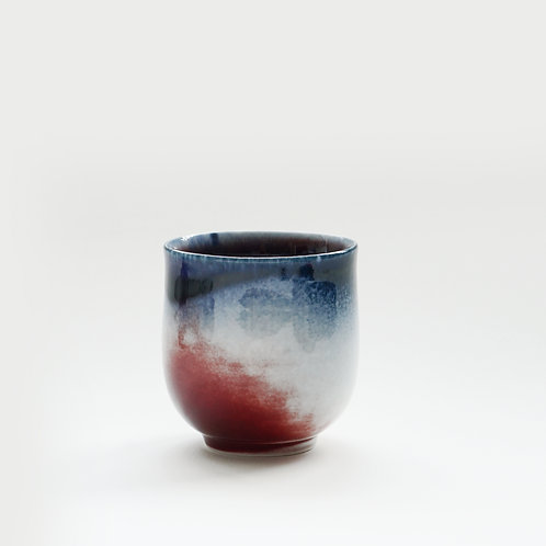 Flambe Glaze Cup-Galaxy Blue