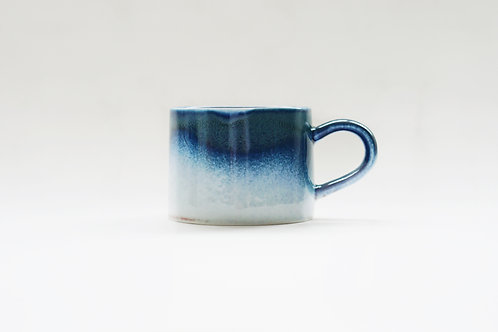 Flambe Glaze Mug- Galaxy Blue