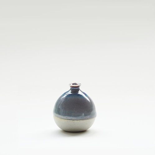Mini Vase-Atlantic Blue