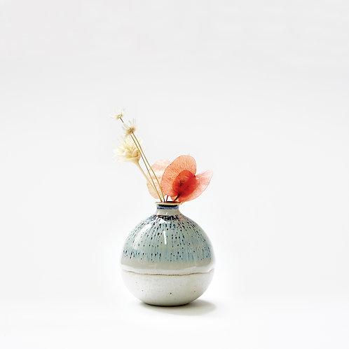 Mini Vase-Hare's Fur Glaze
