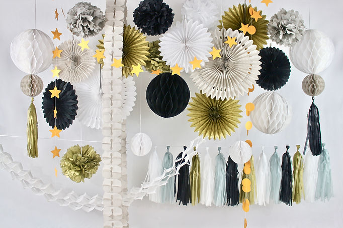 Ecofriendly and Sustainable Paper Party Decorations for Celebration