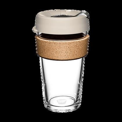KeepCup Brew Cork - Resusable Glass Cup - Large 16 oz
