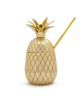 LARGE PINEAPPLE TUMBLER - 16 oz