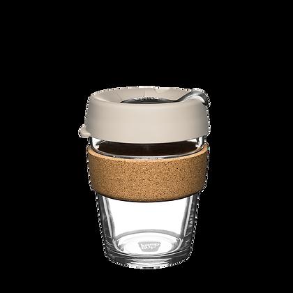 KeepCup Brew Cork - Resusable Glass Cup - Medium 12 oz