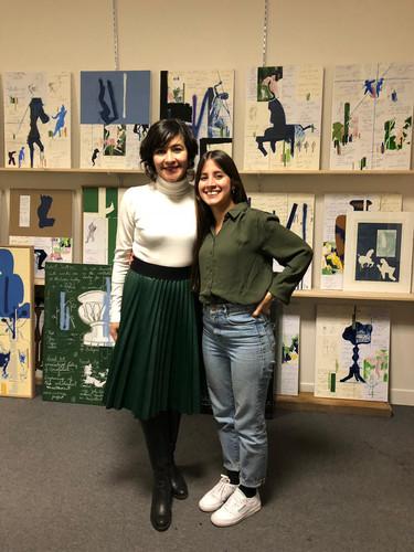 Vanessa Palacio Founder Aluna Foundation and Natalia Correa Founder Jaguar Arte.