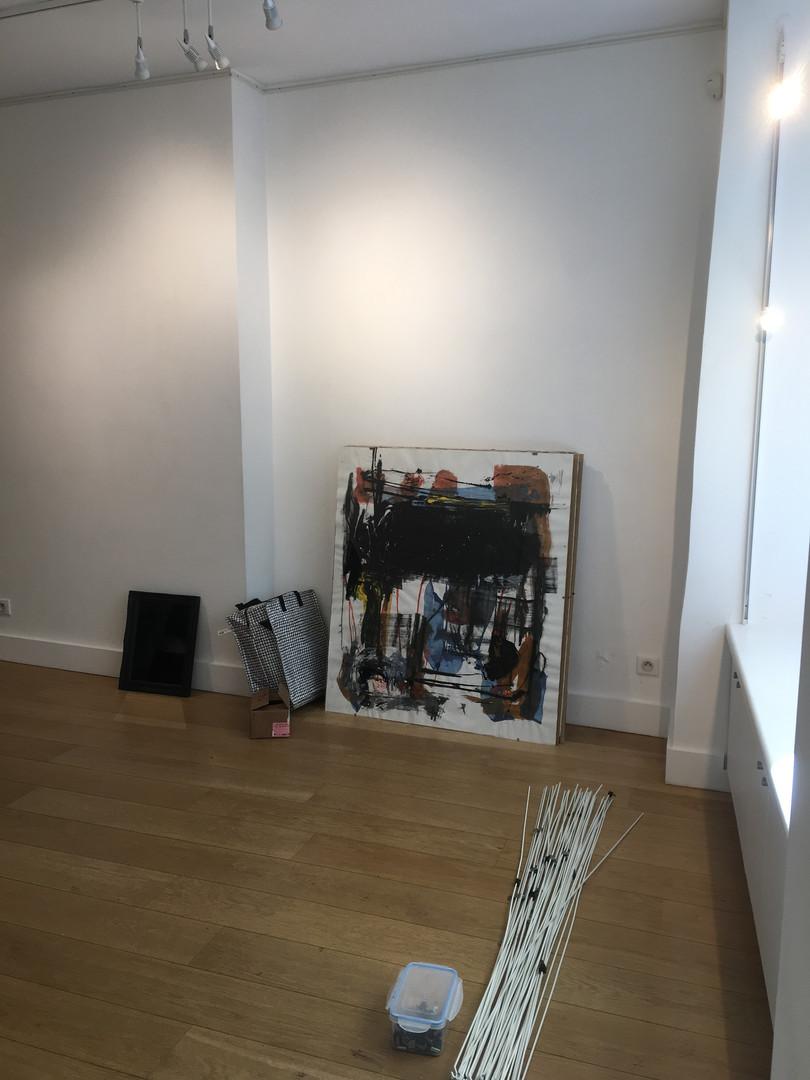 Nicolas Bijakowski art exhibition in Paris with Jaguar Arte Gallery in collaboration with Mosais