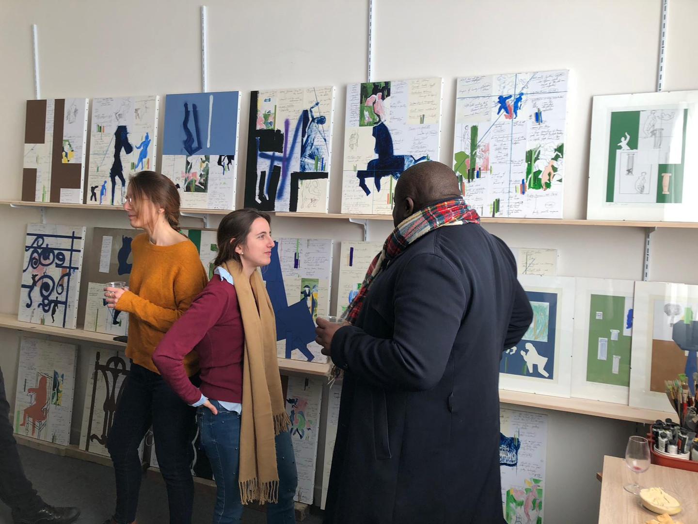 Visit to Alejandro M. Parisi's studio