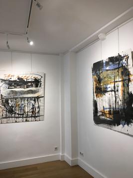 Nicolas Bijakowski art exhibition in Paris with Jaguar Arte Gallery