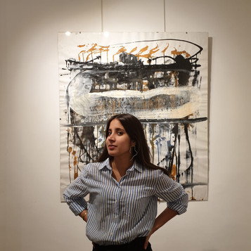 Nicolas Bijakowski art exhibition in Paris with Jaguar Arte Gallery - Founder Natalia Correa