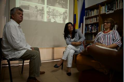 Talks with Ríos y Ciudades Foundation at the Alianza Francesa of Cali