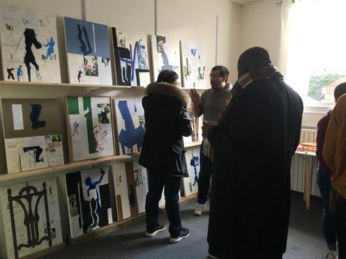 Artist Alejandro M. Parisi's Studio