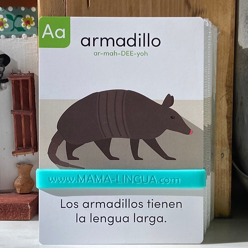 Bilingual Animal Flashcards