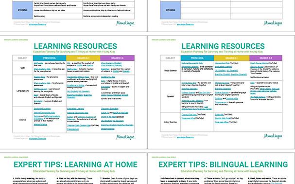 Bringing Learning Home-MamaLingua-Homesc