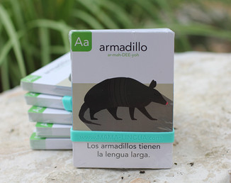 Bilingual Alphabet Animal Flashcards