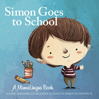 Bilingual Book: Simon Goes to School