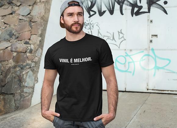 Camiseta Vinil é Melhor