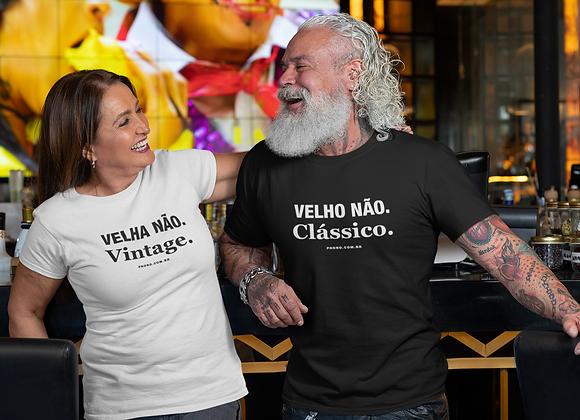 Camiseta Vintage Clássico