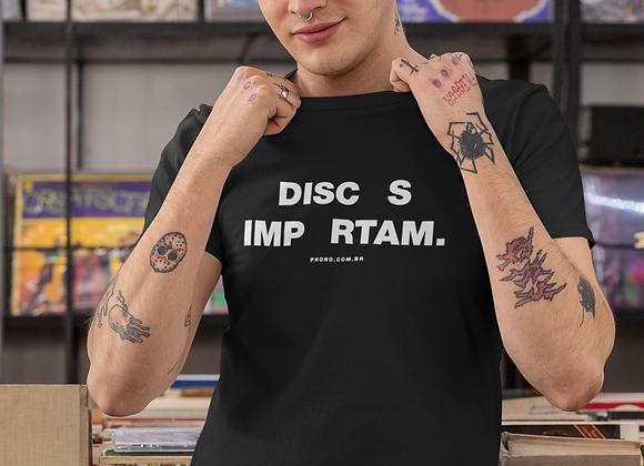 Camiseta Discos Importam